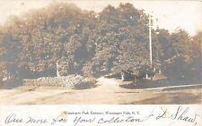1905 RPPC Wappingers Park Entrance Wappingers Falls NY Dutchess county