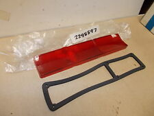 Mopar NOS Tail Lamp Lens Rt. 63 Valiant (Except S/Wagon)