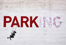 Graffiti  -  PARK Parking  -  Banksy A3 Art Poster Print