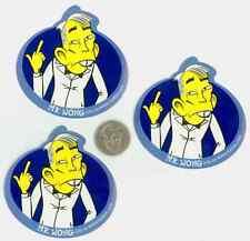 Mr. Wong 3 sticker LOT ICEBOX.com National Lampoon