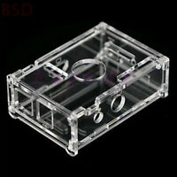 Enclosure Clear Transparent Acrylic Case Shell Computer Box Kit For Raspberry Pi