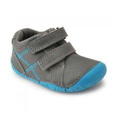Chaussures bleues en cuir pour bébé