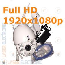 Telecamera IP Wifi 1080p Motorizzata Stagna IR Array Led Visione Notturna 50MT