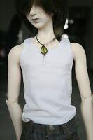 [wamami]06# White Vest/T-shirt For 1/3 SD AOD DOD DZ LUTS BJD Dollfie