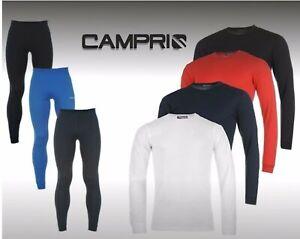 Mens Campri Thermal Long Sleeve Top Baselayer Bottoms Pants Underwear S-XXXXL