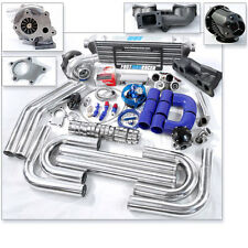 T04E T3 T3/T4 Turbo Kit Turbo Manifold Single Cam For 240SX S13 KA24E 2.4L SOHC