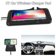 C7 Qi Wireless Car Phone Charger Fast Charging Pad Mat Silicone Non-slip Mat (Fits: Dodge Shadow)
