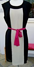 BNWT BLACK & IVORY SPECIAL OCCASSION DRESS, SIZE 12, M&CO