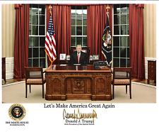 Donald J. Trump.  8 x10 Reprint Signed Photo.