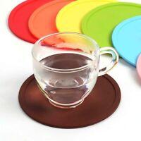 Premium Gummi Silikon Heißgetränk Untersetzer Platzdeckchen Kaffee Teebecher