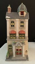 Dept 56 59730 Ritz hotel Christmas In The City series heritage village house