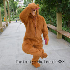 Sun Wukong Monkey Mascot Costume Suit Anime Party Cosplay Dress Parade Adults US
