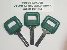 (3) Volvo Loader & Articulated Haul Truck, Heavy Equipment Keys #11039228 Key