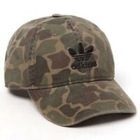 ADIDAS ORIGINALS TREFOIL RELAXED FOREST CAMO STRAPBACK HAT CAP C153-141322C NEW
