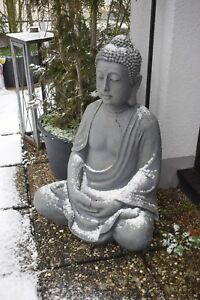 Buddha Skulptur Gartenfigur XXL Höhe 100 cm Buddhas Dekofigur >>>>Nur Abholung<<