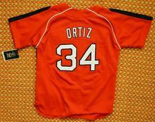 Boston Red Sox, MLB Jersey by Nike, Boys Medium, #34 Ortiz, New