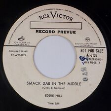 EDDIE HILL: Smack Dab in the Middle US RCA VICTOR Country Promo 45 MP3