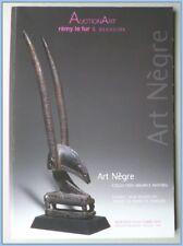 ART AFRICAIN - COLLECTION MAURICE MATHIEU - CATALOGUE VENTE 10 OCTOBRE 2012