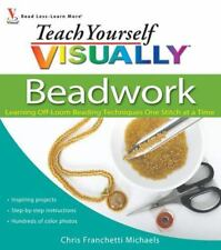 BOOK Teach Yourself VISUALLY Beadwork Learn Off-Loom Beading Techniques VeryGood