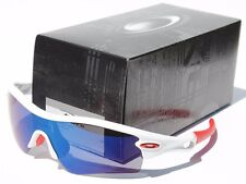 OAKLEY Radar Path ASIAN FIT Sunglasses Polished White/Ice Iridium NEW 24-431J