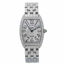 Franck Muller Curvex 1752QZD Factory Diamond Silver Dial Lady's Watch
