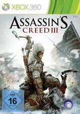 Assassin's Creed III XBOX 360 Spiel ( Creed 3 )