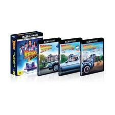 Back to The Future Ultimate Trilogy 1 2 3 Collection 4k UHD Ultra HD & Blu Ray