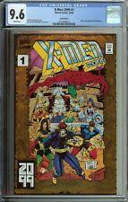 X-MEN 2099 #1 GOLD CGC 9.6 VARIANT EDITION 1ST APP BLOODHAWK MEANSTREAK