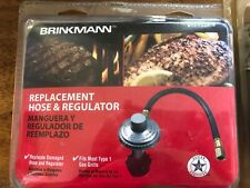 NEW Brinkmann 812-7224-S2 Grill Hose & Regulator and 10 ft hose New in Box