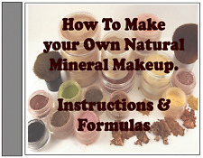 Recipes Homemade D.I.Y. Mineral Loose Powder Natural Makeup Easy Instructions