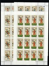 KZ 16X SOMALIA - MNH - PLAYING CARDS - WHOLESALE