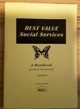 Best Value Social Services A Handbook- Keith Fletcher 1998