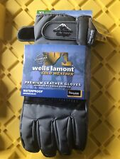 NEW Wells Lamont 7660XL Grips Waterproof Cold Weather Ski/Work Gloves, X-Large