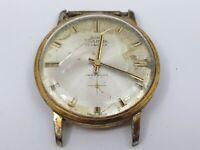 Vintage Systema 17 Jewels Incabloc Gentleman's Wrist Watch For Repair