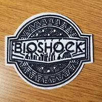 Bioshock Black Logo Patch 3 1/4 inches tall