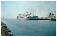 Float Oiler & Merchant Ship Norfolk Naval Base PC2052