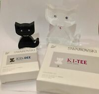SWAROVSKI KI-TEE & ED-TEE Love Cats (exclusively sold at Kristallwelten Wattens)