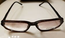 Authentic Chanel 3026 Rx Eyeglasses Frame Made In Italy 55/15 135 c.579
