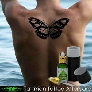 Tattoo Healing Oil. Australia's Premium. Fast, Clean Healing With No Itching.