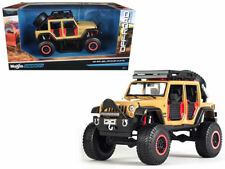 Maisto 1:24 Off-Road Kings 2015 Jeep Wrangler Unlimited Diecast Car Brown 32523