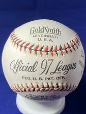 Vintage 1936 Goldsmith South Atlantic League Baseball with Original Box