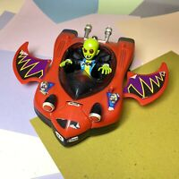 Vintage - Bandai 1991 - Little Dracula & Dracster  Vehicle Intact With Wear