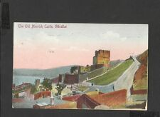 Vintage Colour Postcard General View Old Moorish Castle Gibraltar posted
