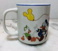 Vintage Disneyland Walt Disney World Mug Mickey Goofy Pluto Minnie On Parade