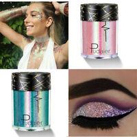 36 Farben Makeup Glitzer Eye Shadow Loose Pulver Pigment Lidschatten Kosmetik
