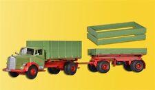Kibri 14069MB 6600 rastra con remolque,AÑO fabricación 50-54,kit construcción,H0
