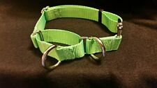 Training Martingale Style Dog Collar Metal Buckle With 2 D Rings Better Control