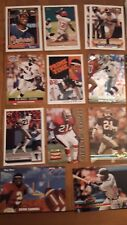 Deion Sanders 33 Card Lot-25 different Braves Reds Falcons 49ers Yankees Cowboys