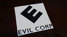 EVIL CORP Computer Hacker decal sticker MR ROBOT