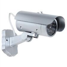 Emulational Decoy CCTV Security Dummy Camera w/ 18 False Red Blinking LED